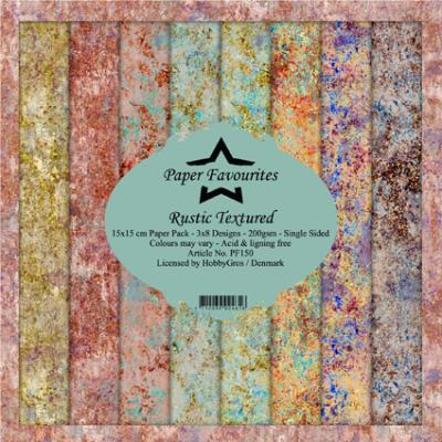 Dixi Craft Designpapier - Rustic Textured