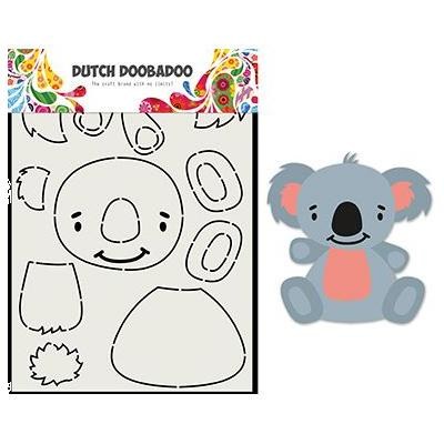 Dutch DooBaDoo Card Art Built - Built up Koala