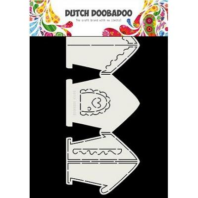 Dutch DooBaDoo Card Art - Gingerbread House