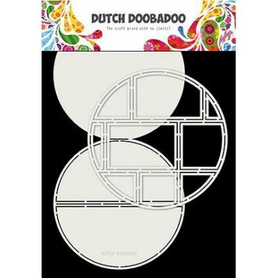 Dutch DooBaDoo Card Art Easel Card - Easel Card Circle