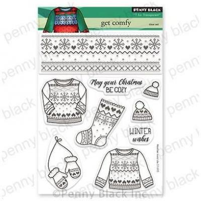 Penny Black Clear Stamps - Get Comfy
