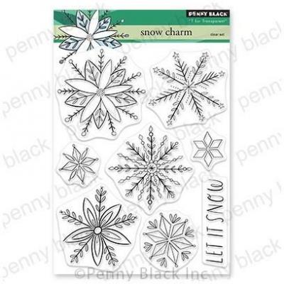 Penny Black Clear Stamps - Snow Charm