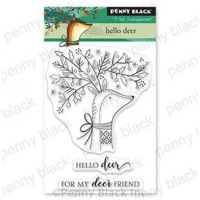 Penny Black Clear Stamps - Hello Deer