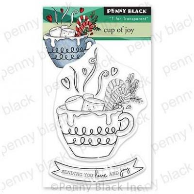 Penny Black Clear Stamps - Cup Of Joy
