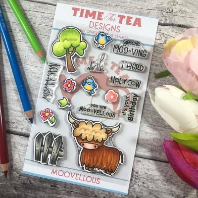 Time For Tea Clear Stamps - Moovellous Set