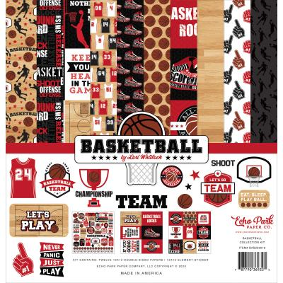 Echo Park Basketball Designpapier - Collection Kit