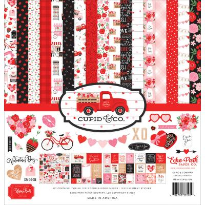 Echo Park Cupid & Co. Designpapier  - Collection Kit