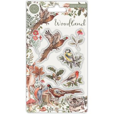 Craft Consortium Woodland Clear Stamps - Birds