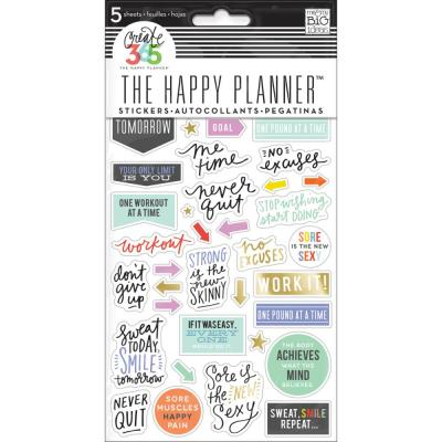 me & my BIG ideas The Happy Planner Sticker - Fitness