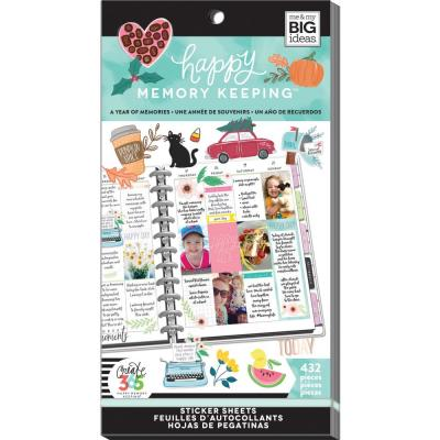 me & my BIG ideas The Happy Planner Value Pack Sticker - A Year Of Memories