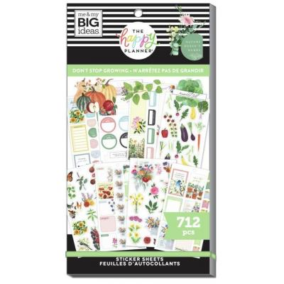 me & my BIG ideas The Happy Planner Value Pack Sticker - Don't Stop Growing