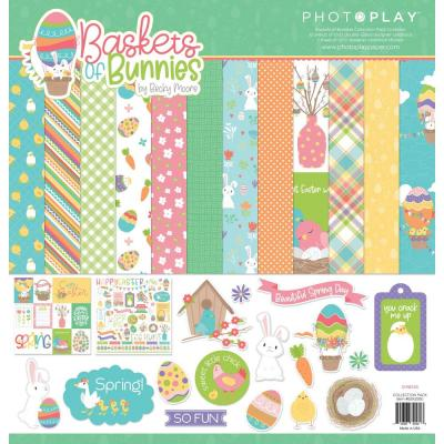 PhotoPlay Baskets Of Bunnies Designpapier - Collection Pack