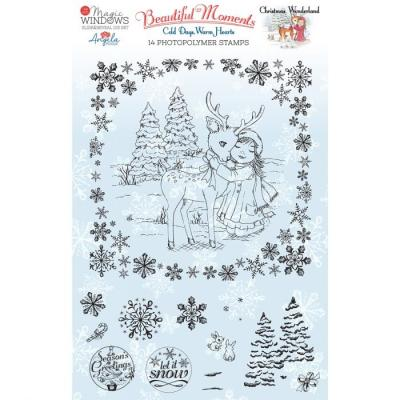Creative Expressions Clear Stamps - Christmas Wonderland