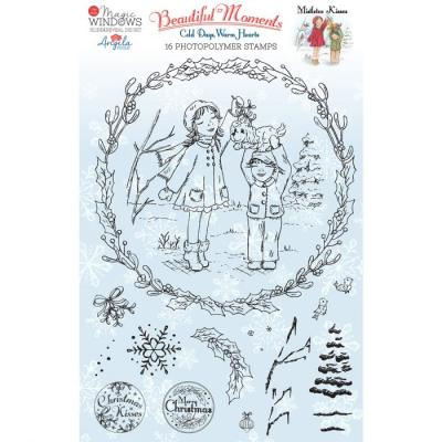 Creative Expressions Clear Stamps - Mistletoe Kisses