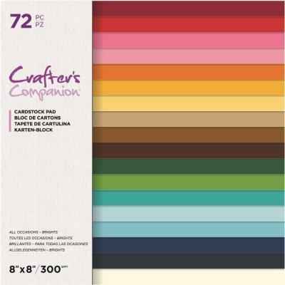 Crafter's Companion Cardstock - All Occasions Brights