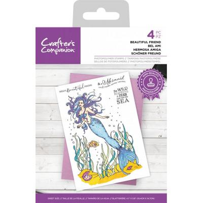Crafter's Companion Clear Stamps - Beautiful Friend