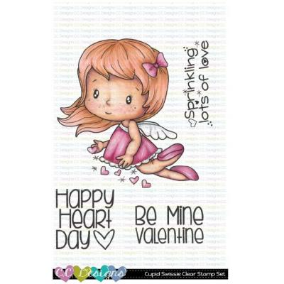 C.C. Designs Clear Stamps - Cupid Swissie