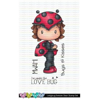 C.C. Designs Clear Stamps - Ladybug Swissie