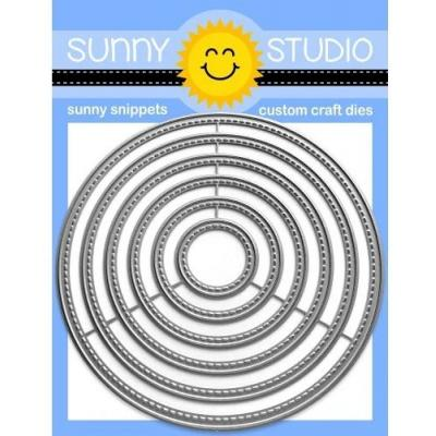 Sunny Studio Dies - Stitched Circle Large