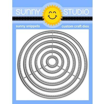 Sunny Studio Dies - Stitched Circle Small