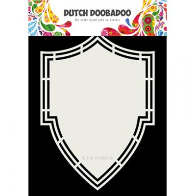 Dutch DooBaDoo Shape Art - Shield