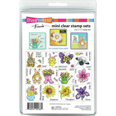 Stampendous Mini Clear Stamps - Spring