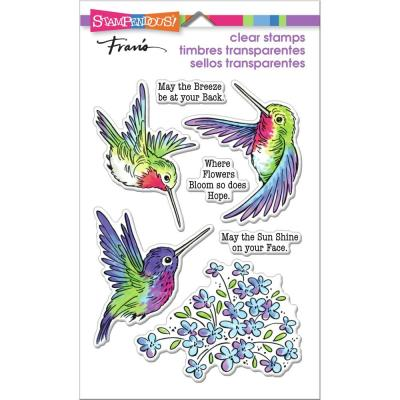 Stampendous Perfectly Clear Stamps - Hummingbird Hope