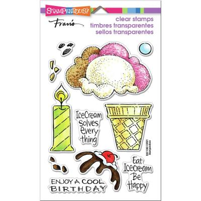 Stampendous Perfectly Clear Stamps - Pop Ice Cream