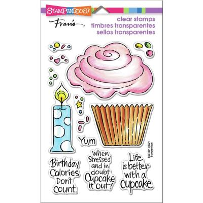 Stampendous Perfectly Clear Stamps - Pop Cupcake