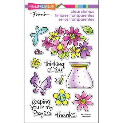 Stampendous Perfectly Clear Stamps - Pop Bouquet