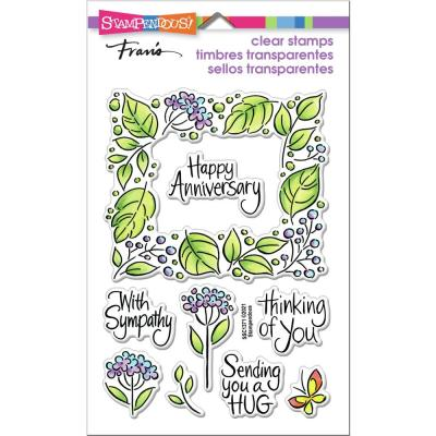 Stampendous Perfectly Clear Stamps - Leafy Frame