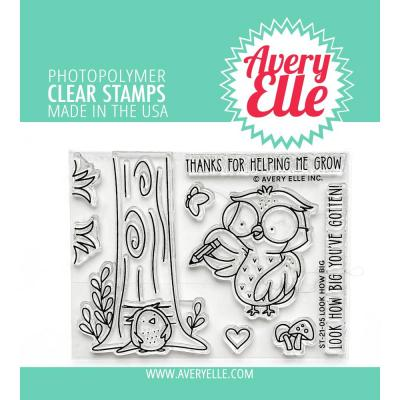 Avery Elle Clear Stamps - Look How Big
