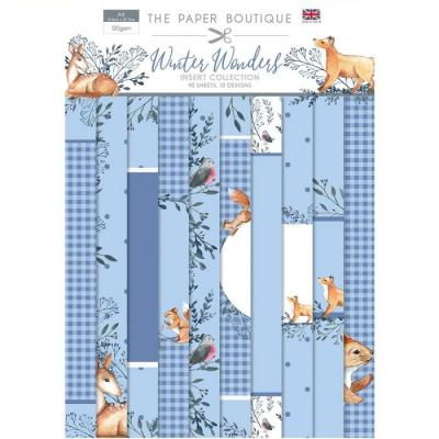 The Paper Boutique Winter Wonders Designpapier - Insert Collection