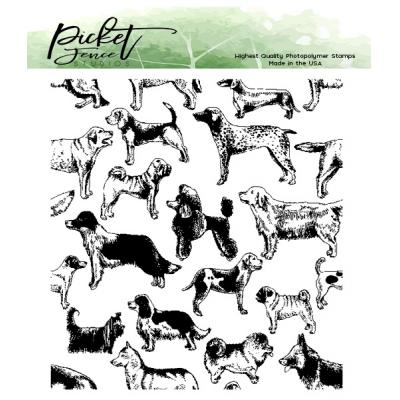 Picket Fence Studios Clear Stamps - This Dog Is For You
