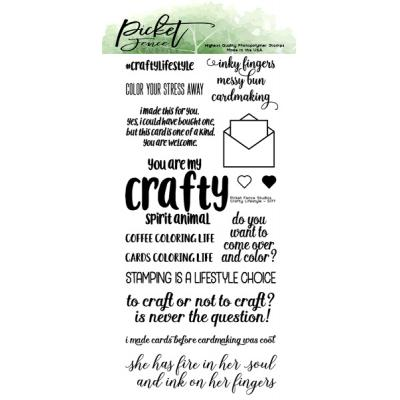 Picket Fence Studios Clear Stamps - Crafty Lifestyle