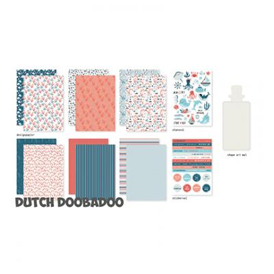 Dutch DooBaDoo Crafty Kit Designpapier - Sea Bottom