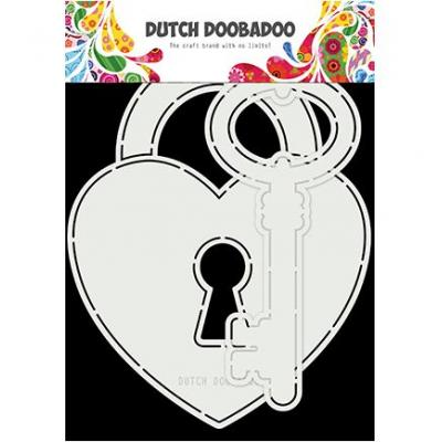 Dutch DooBaDoo Card Art - Key To My Heart