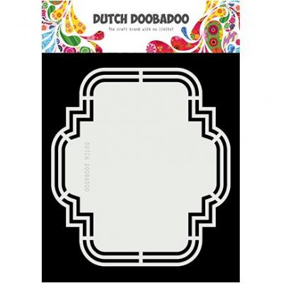 Dutch DooBaDoo Shape Art - Iris