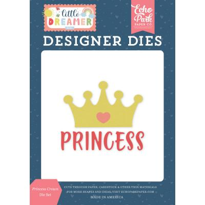 Echo Park Little Dreamer Girl Die Set - Princess Crown