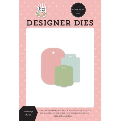 Carta Bella Flower Garden Dies - Bloom Tags