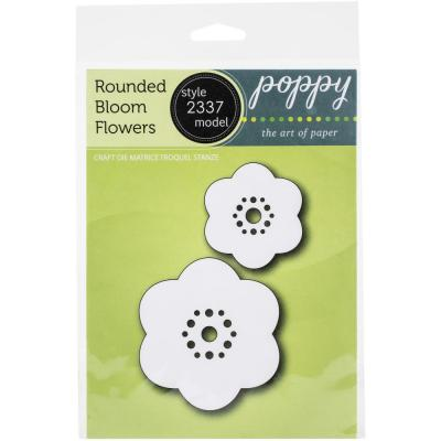 Poppystamps Metal Dies - Rounded Bloom Flowers