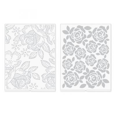 We R Memory Keepers Embossingfolder - Florals Revolution