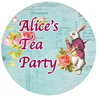 Asuka Studio Memory Place Alice's Tea Party - Washi Tape