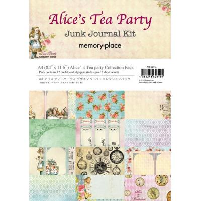 Asuka Studio Memory Place Alice's Tea Party Designpapier - Paper Pack