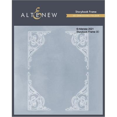 Altenew 3D Embossing Folder - Storybook Frame