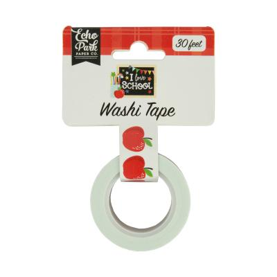 Echo Park I Love School Washi Tape - Apples