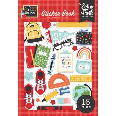 Echo Park I Love School - Sticker Book
