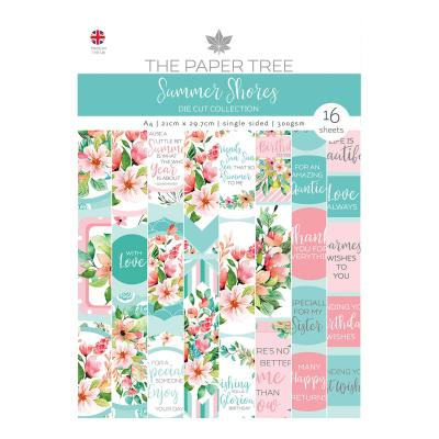 Creative Expressions Summer Shores Designpapier - Backing Papers