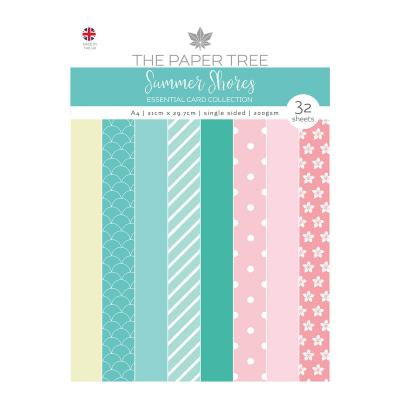 Creative Expressions Summer Shores Designpapier - Essentials Colour Card