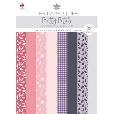 Creative Expressions Pretty Petals Designpapier - Essentials Colour Card